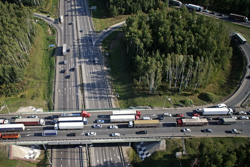 Central Ring Road in the Moscow Region